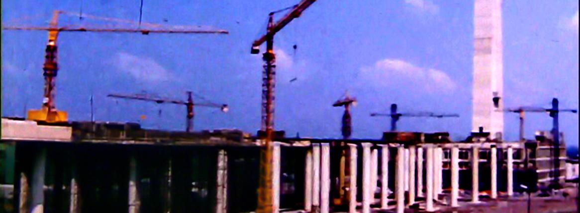 Construction du pont canal