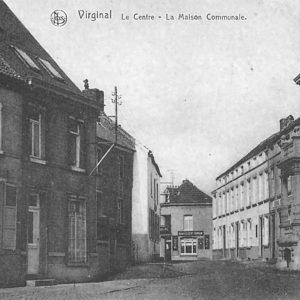 Autrefois - Virginal-_Maison_communale_-3