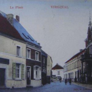 Autrefois - Virginal-_Maison_communale_-5