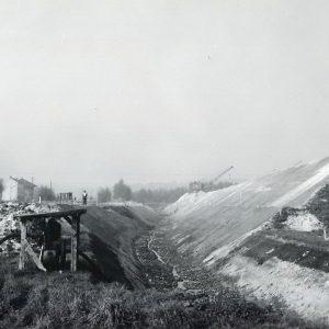 Gosselies - Gosselies-Terrassements-detournement-pieton-10-1955-01