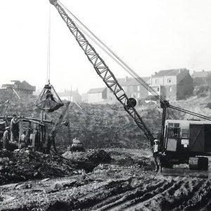Gosselies - Gosselies-Terrassements-ecluse-2F13-10-1955-01