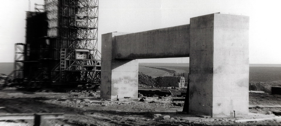 Le chantier en 1963