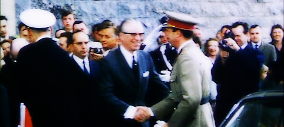 L'inauguration le 1er avril 1968