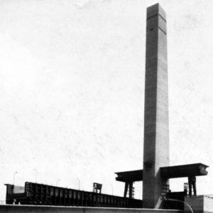 Les fondations de la tour