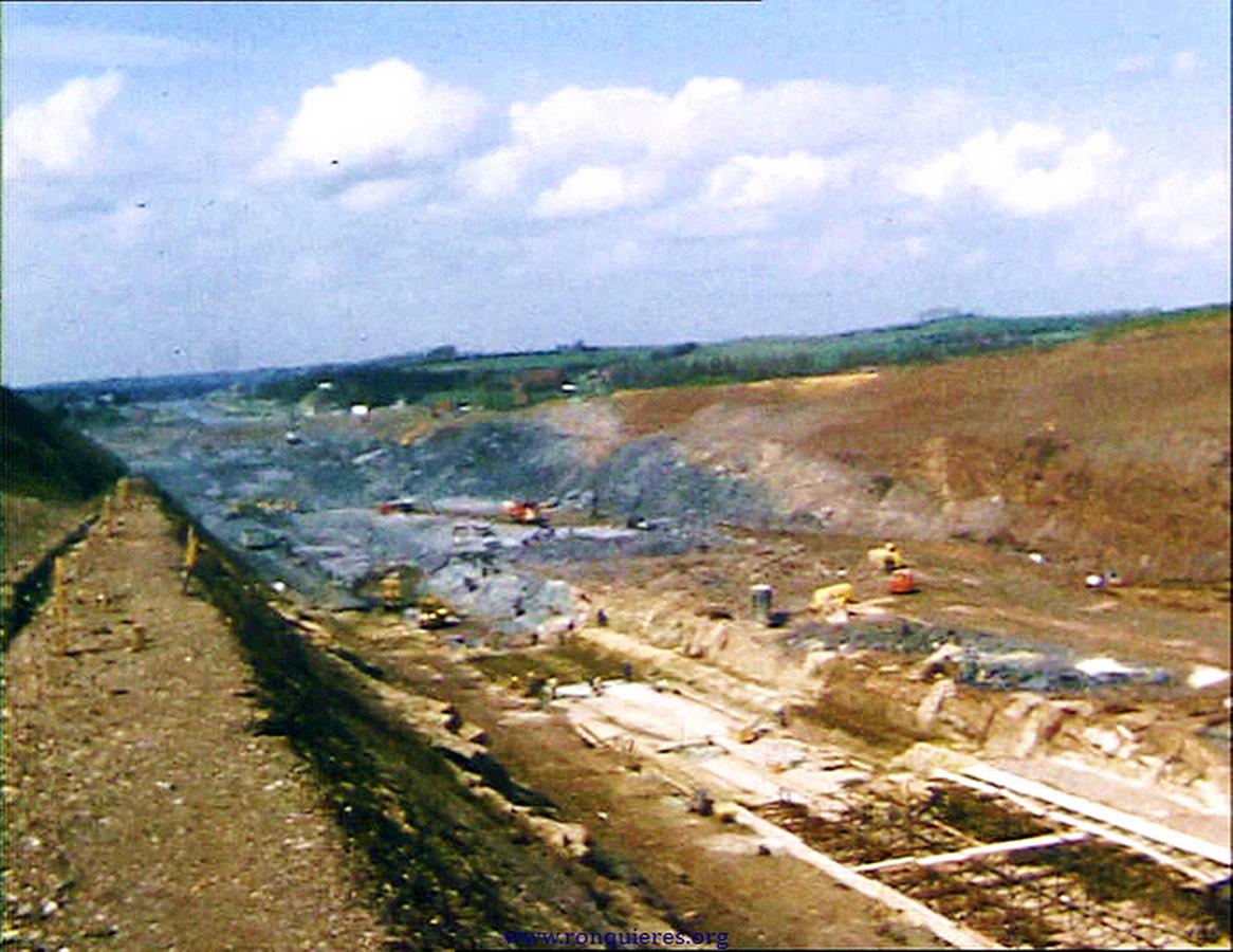 Le chantier le 23 aout 1964