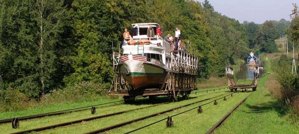 Plans inclinés du canal d'Elblag