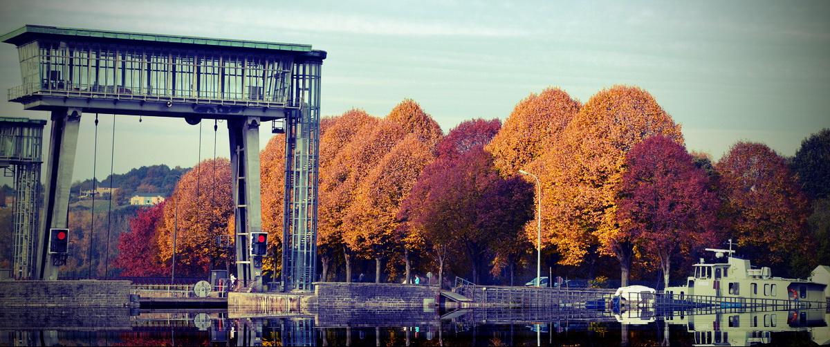 L'écluse en automne