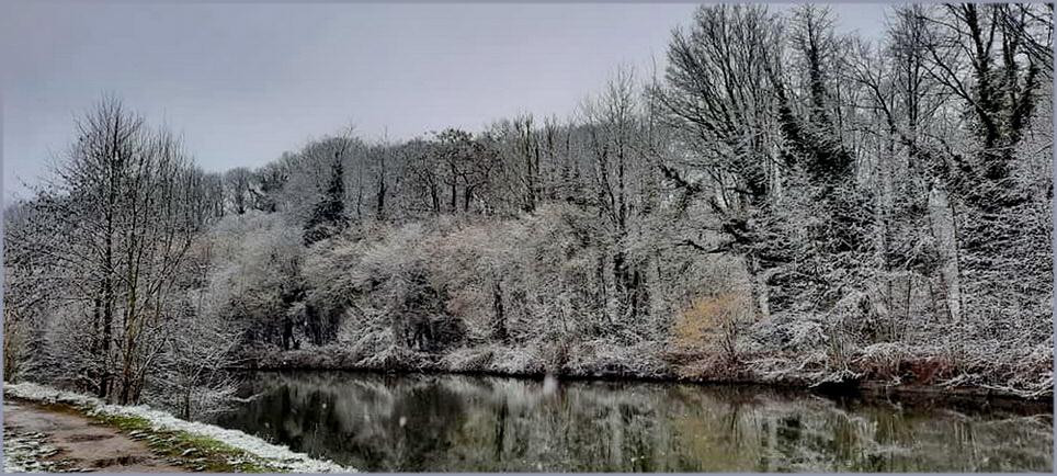 Un matin d'hiver gris