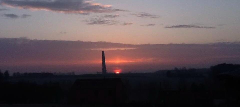 L'aube à la ferme Canart