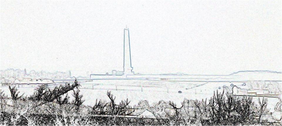 La tour en hiver
