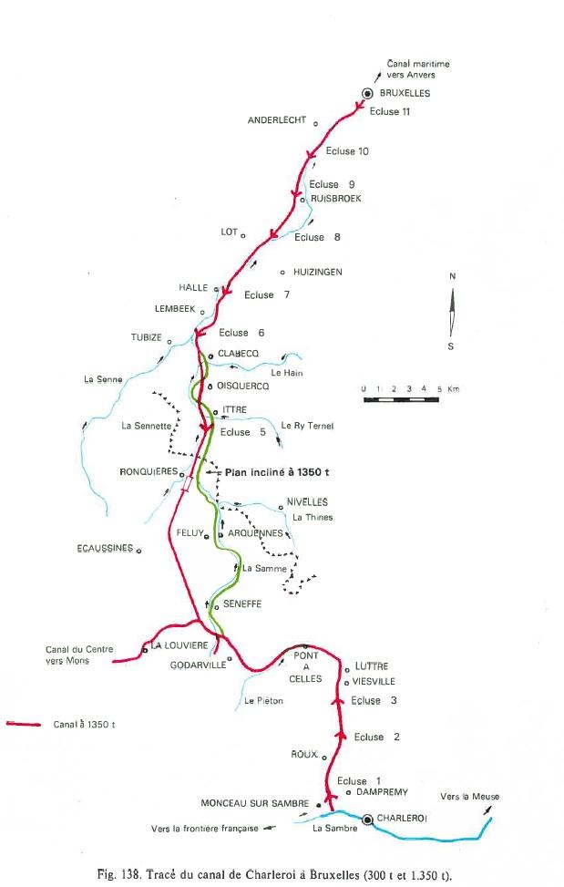 Histoire - Carte-canal-1350-tonnes