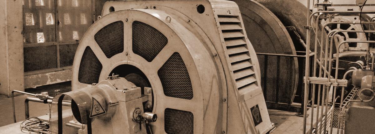 La salle des turbines