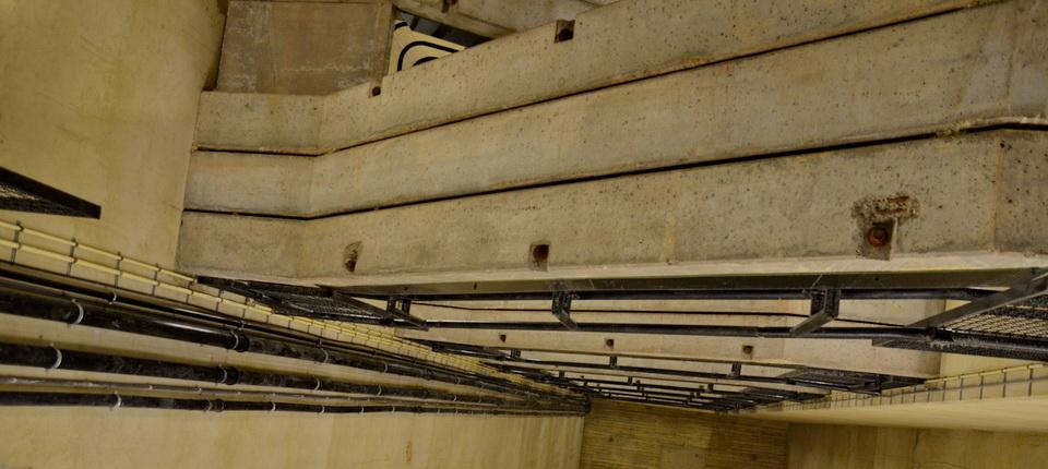 Les escaliers de la tour