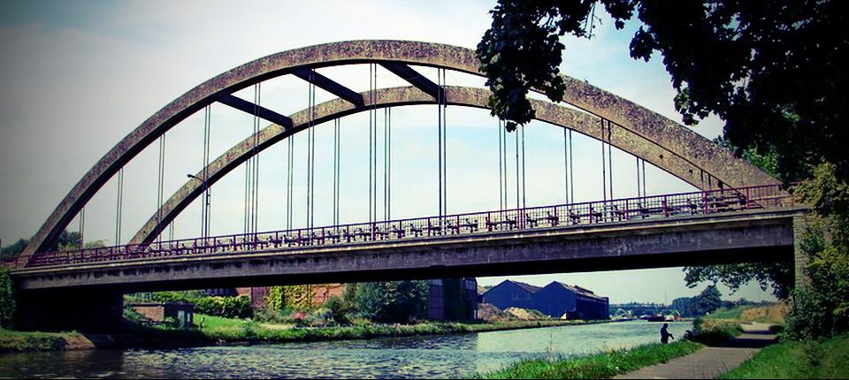 Le pont de Clabecq