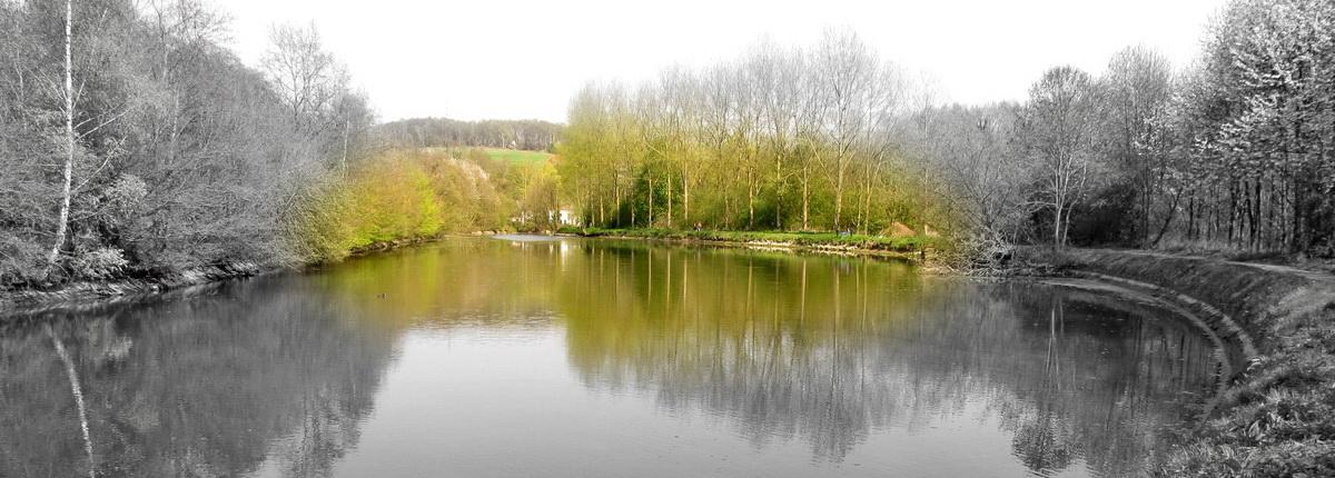 Le vieux canal en 2010