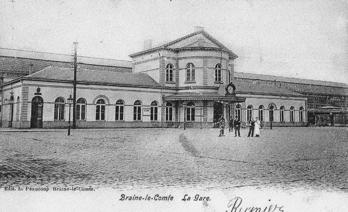 La gare de Braine Le Comte