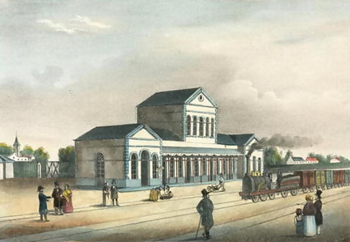 La gare en photos anciennes