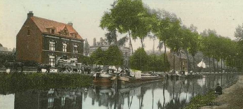 Le canal à Clabecq